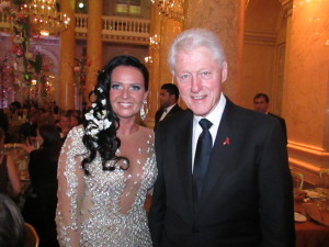 Bill Clinton + Brigitte Annerl_LifeBall 2014